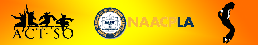 LA NAACP ACT-SO Banner